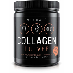 WoldoHealth - 100% Collagen Pulver 500 g