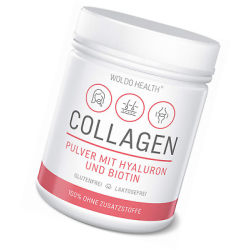 WoldoHealth - Collagen mit Hyaluron & Biotin 500g