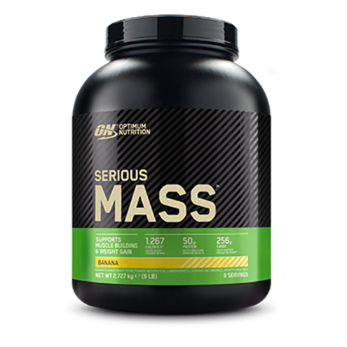 Optimum Nutrition - Serious Mass (2,72Kg) Banana
