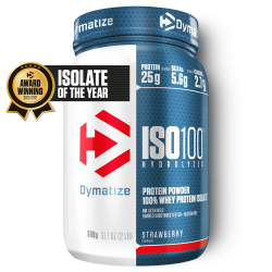 Dymatize-ISO 100 - 900g Strawberry