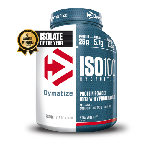 Dymatize-ISO 100 - 2200g Strawberry