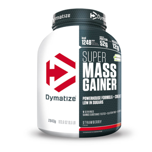 Dymatize-Super Mass Gainer 2.95kg Strawberry