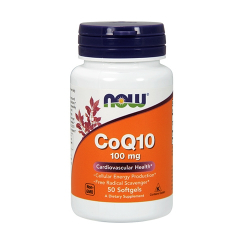 Now Foods - CoQ10 100mg - Softgels