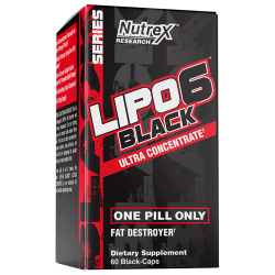 Nutrex - Lipo6 Black Ultra Concentrate (60caps)