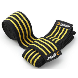 GASP - Knee Wraps Black/Flame