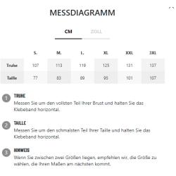 GASP - L/S Thermal Hoodie Graph Melange