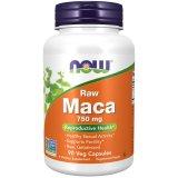 Now Foods - Maca Raw 750mg - 90 Kapseln