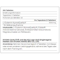 YAMAMOTO - Glutamine Pro 200 Tablets