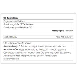 YAMAMOTO - MagnesiumCitrate 90caps