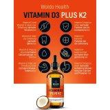 Woldo Health - Vitamin D3 Plus K2
