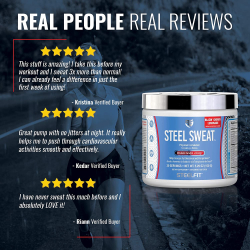 SteelFit - STEEL SWEAT 30serv.
