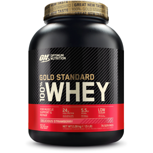 Optimum Nutrition - 100% Whey Gold Standard 2270g DeliciousStrawberry