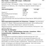 Now Foods - C-1000 100 Tabletten