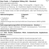 Now Foods - L-Tryptophan 500mg 120 Kapseln