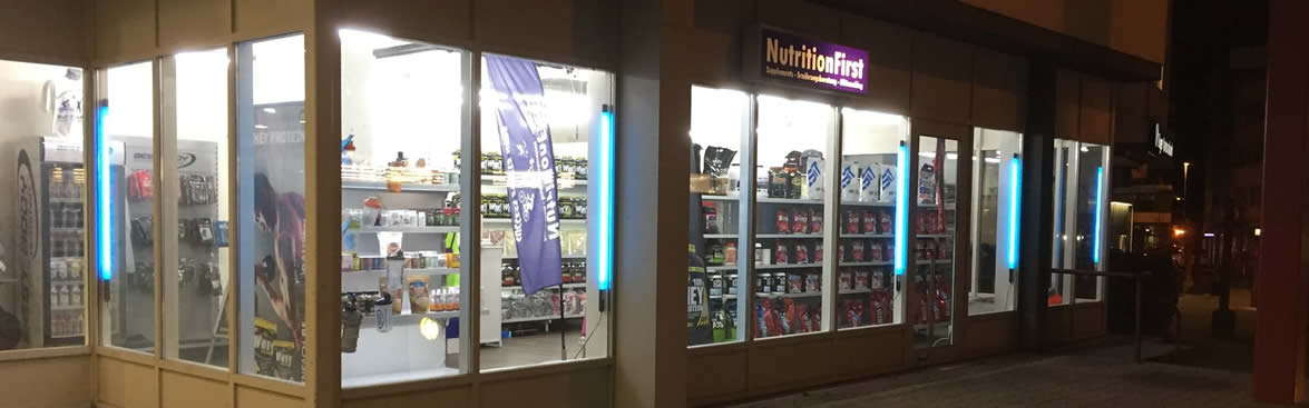 Abholung im NutritionFirst Store