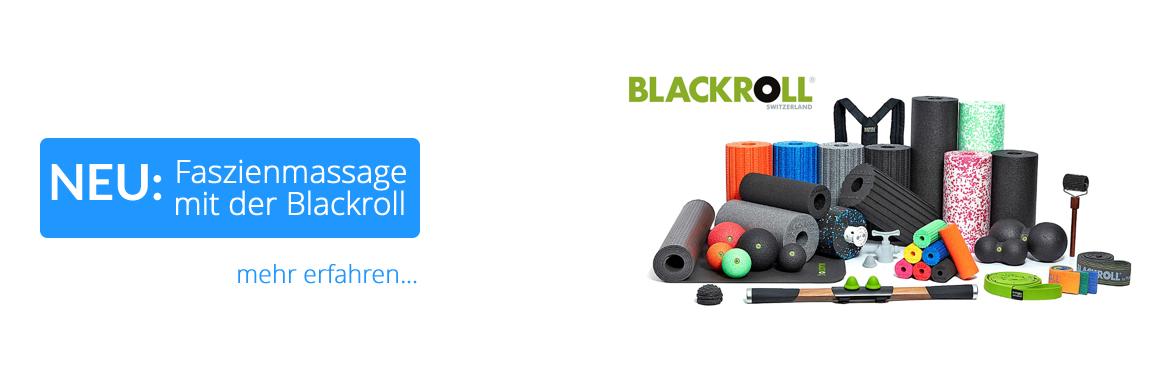 Faszienrollen & Faszienbälle von Blackrol